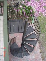 Isometric View of the Stair Spiral