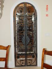 Forged Steel Wine Cellar Doors